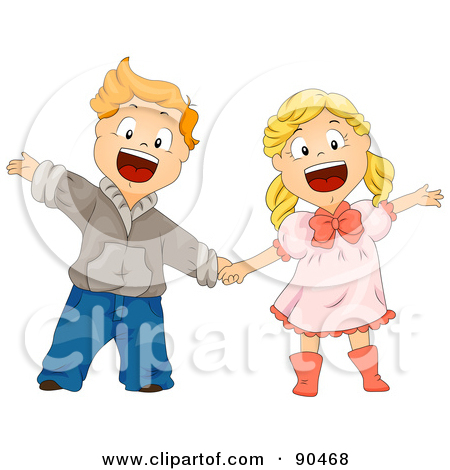 Showing post & media for Cartoon boy and girl singing together.