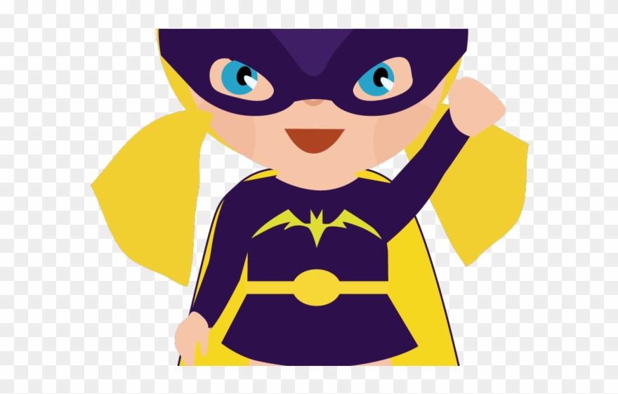 Little Boy Clipart Super Hero.