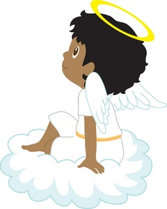 Angel Clipart Boy & Free Clip Art Images #3843.