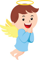 Boy angel clipart » Clipart Station.