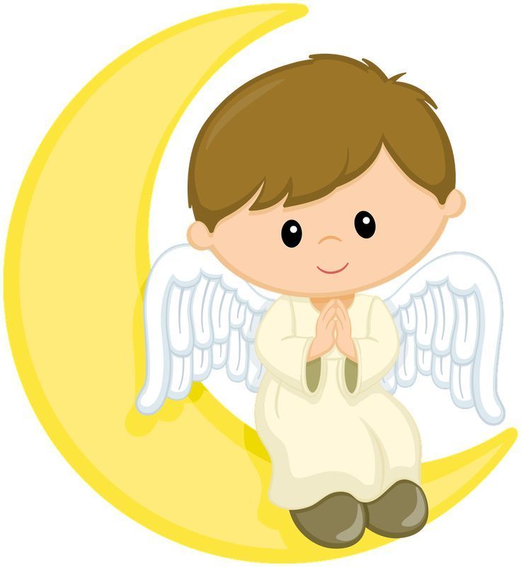 Angel Boy, Angel Clipart, Boy Clipart, Decorative Material PNG.