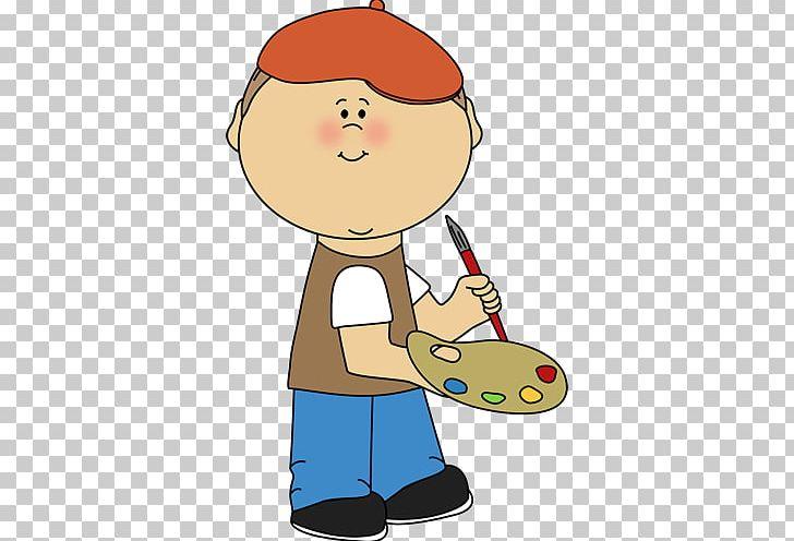 Painting Boy PNG, Clipart, Art, Artist, Boy, Cartoon, Cheek.