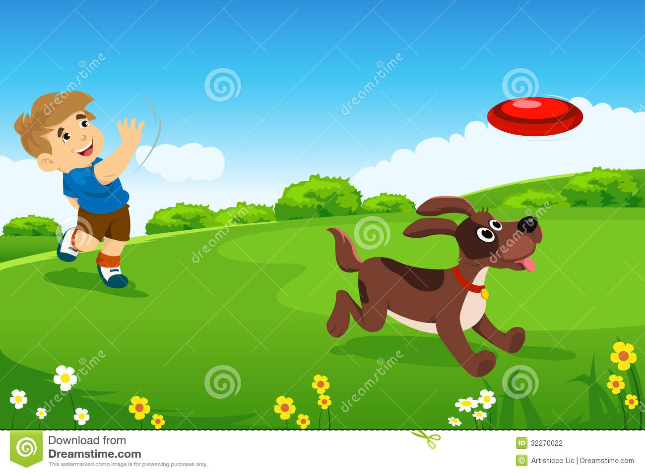 Similiar Dogs Playing At The Park Clip Art Keywords.