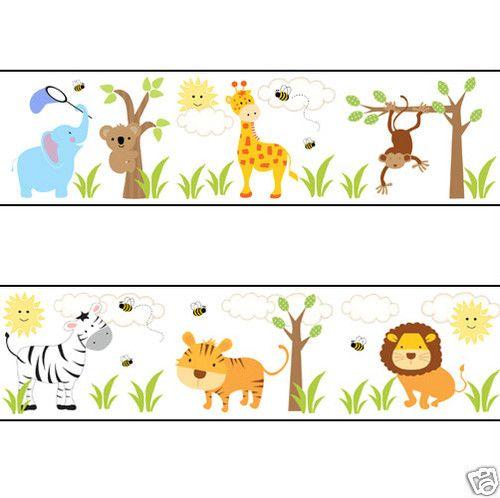 17 Best ideas about Zoo Nursery Wall Borders on Pinterest.