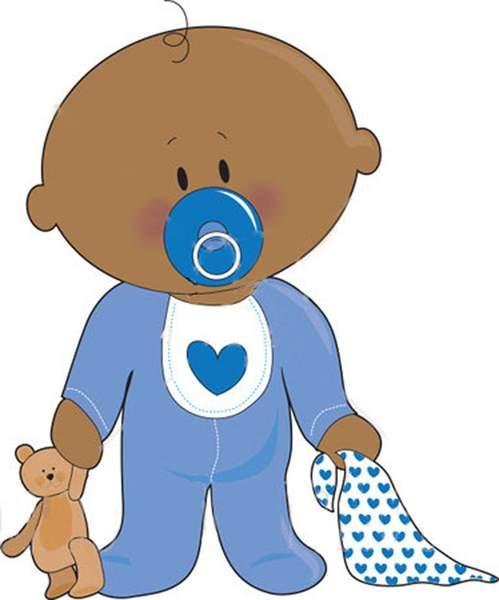 Baby Boy Banner Clip Art ., Baby Shower Boy Free Clipart.