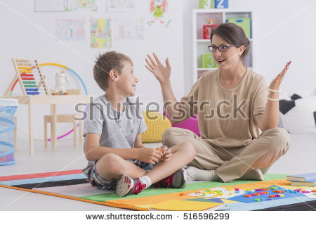 Babysitter Stock Images, Royalty.
