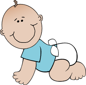 Boy Babysitting Clipart.