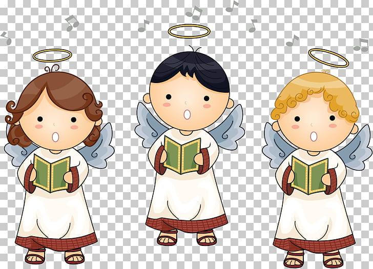 Angel Boy baptism PNG clipart.