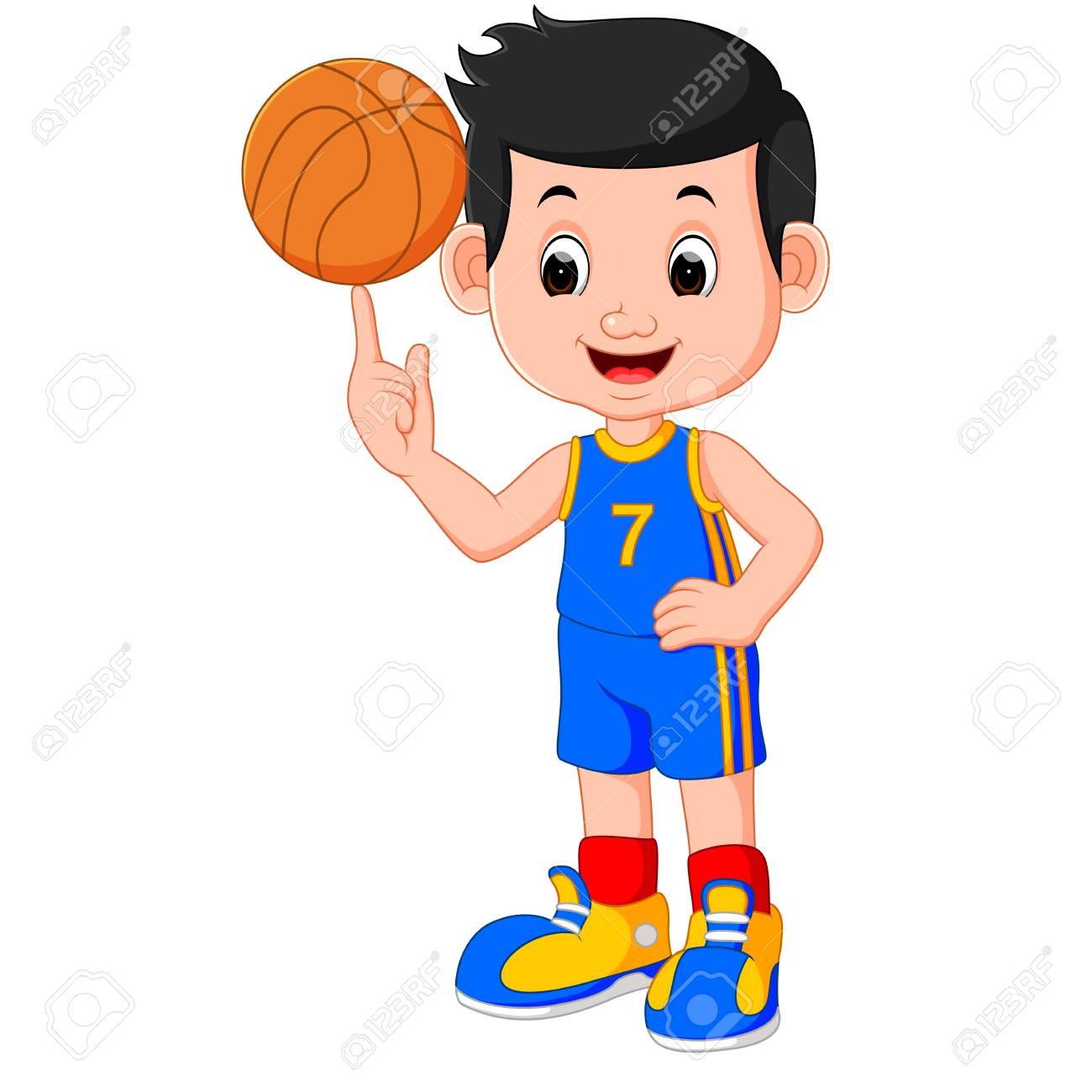 boy basketball player.