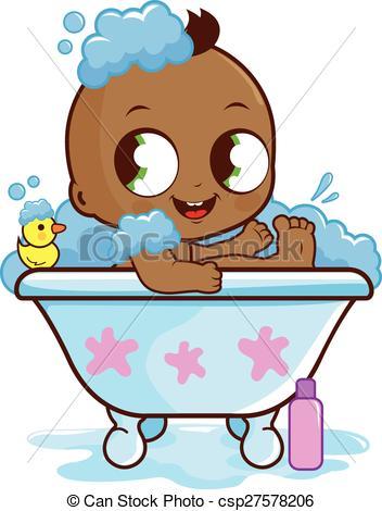 Boy Bath Clipart Clipground
