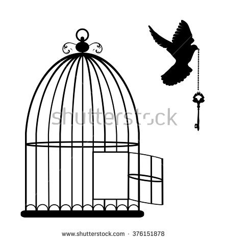 Bird Cage Stock Images, Royalty.