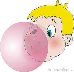Similiar Girl Blowing Bubble Gum Clip Art Keywords.