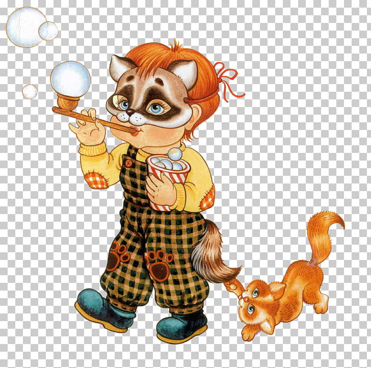 Cat Photography , Mask boy blowing bubbles PNG clipart.