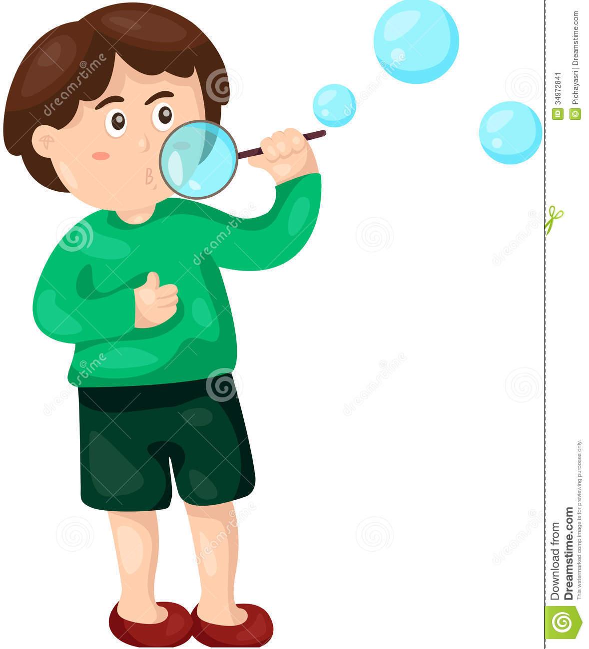 2947 Bubbles free clipart.