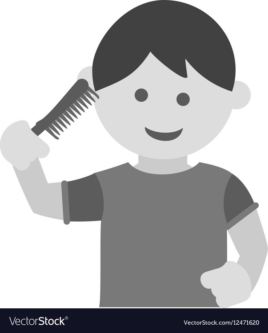 Boy brush hair clipart 3 » Clipart Portal.