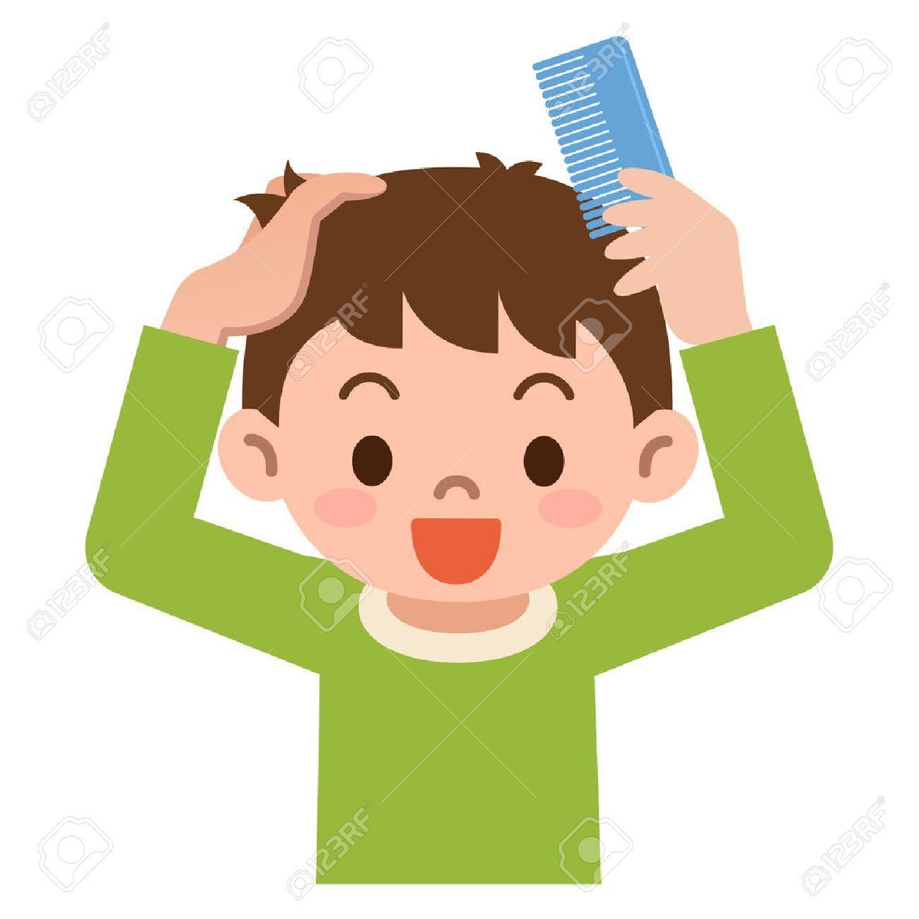 Boy brush hair clipart 4 » Clipart Portal.
