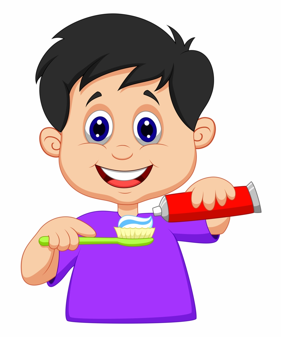 Dental Clipart Tooth Brushing.