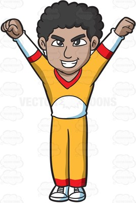 cheerdance Cartoon Clipart.