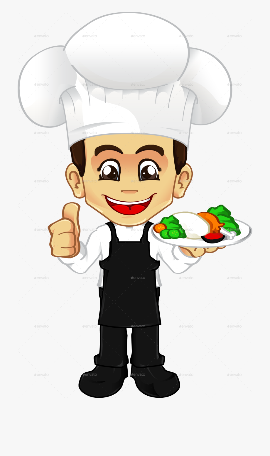 Female Chef Png.