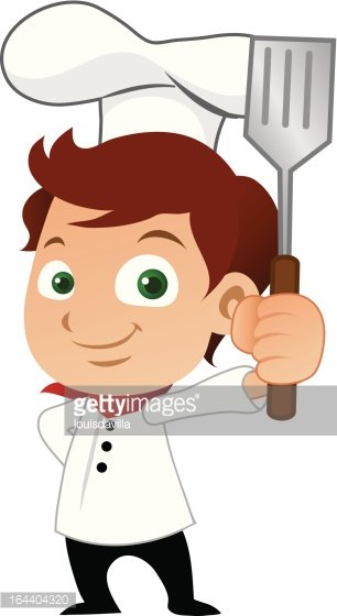 Boy Chef Clipart Image.