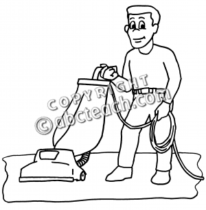 Similiar Black And White Doing Chores Clip Art Keywords.
