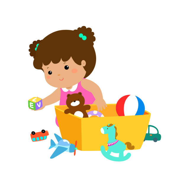 Best Cleaning Up Toys Illustrations, Royalty.