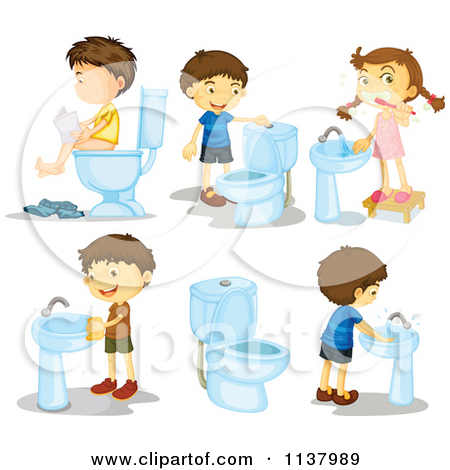 Toilet Clipart U0026middot Bathroom Royalty Free Restroom Illustrations By Colematt Page 1