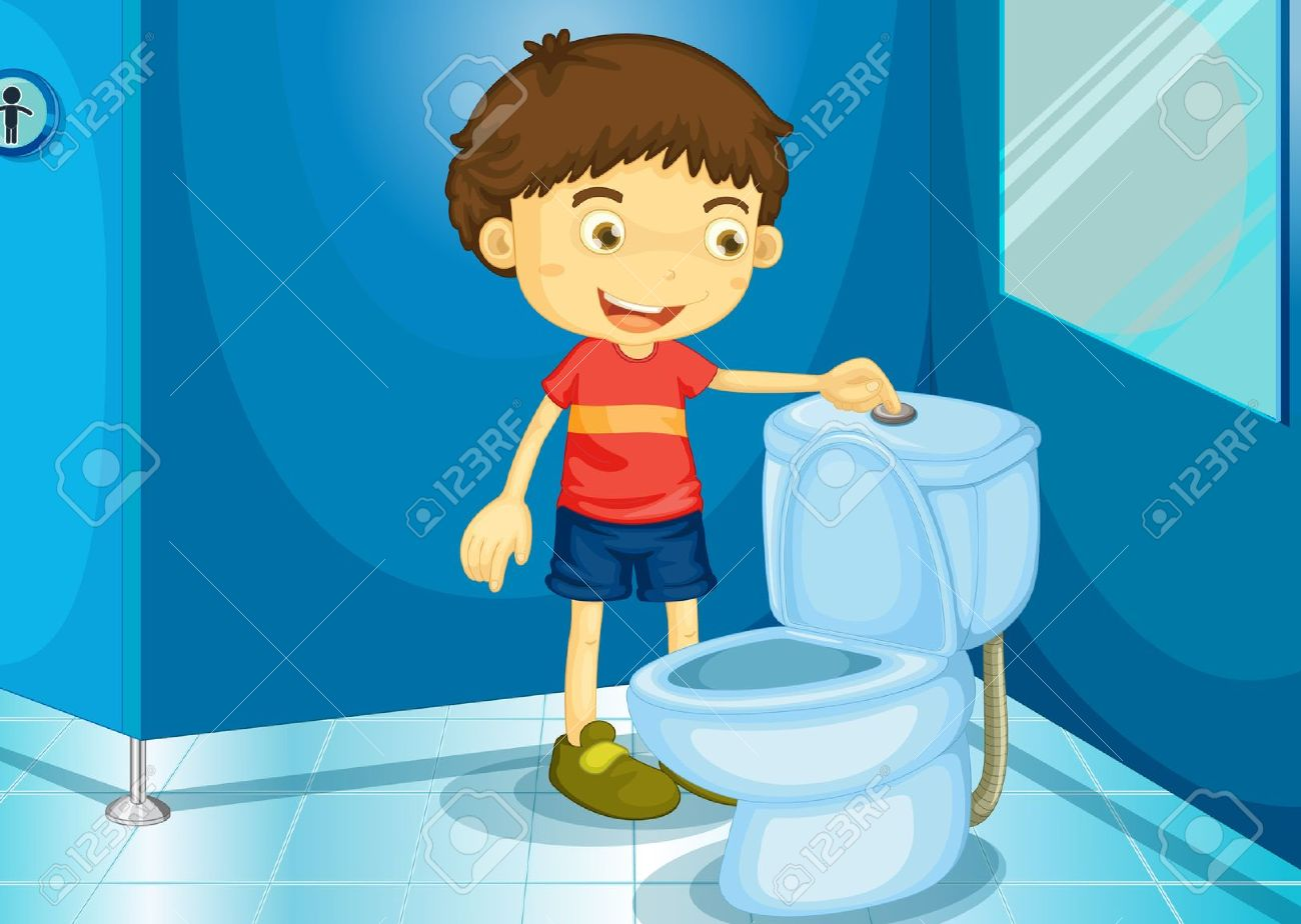 boy cleaning restroom clipart free - Clipground