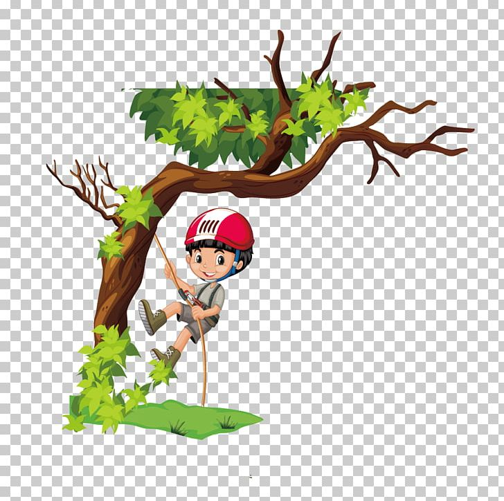 Tree Climbing PNG, Clipart, Art, Boy Cartoon, Boy Vector, Branch.