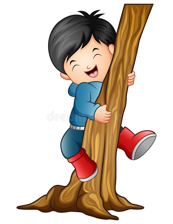 Climbing Tree Stock Illustrations.