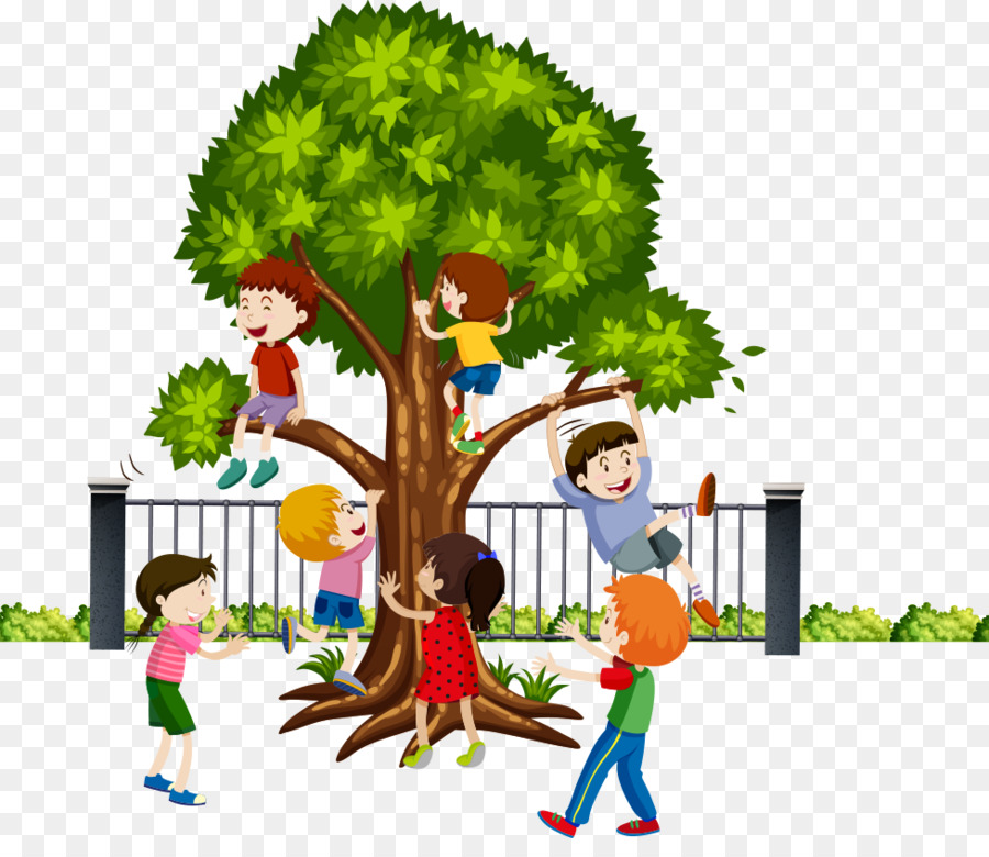 A Kid Climbing A Tree Png & Free A Kid Climbing A Tree.png.