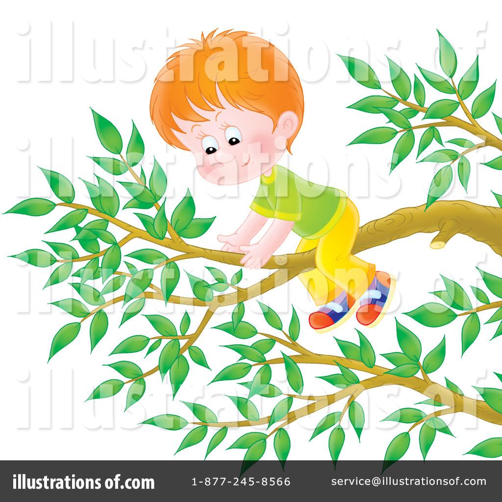 Climbing A Tree Clipart #229845.