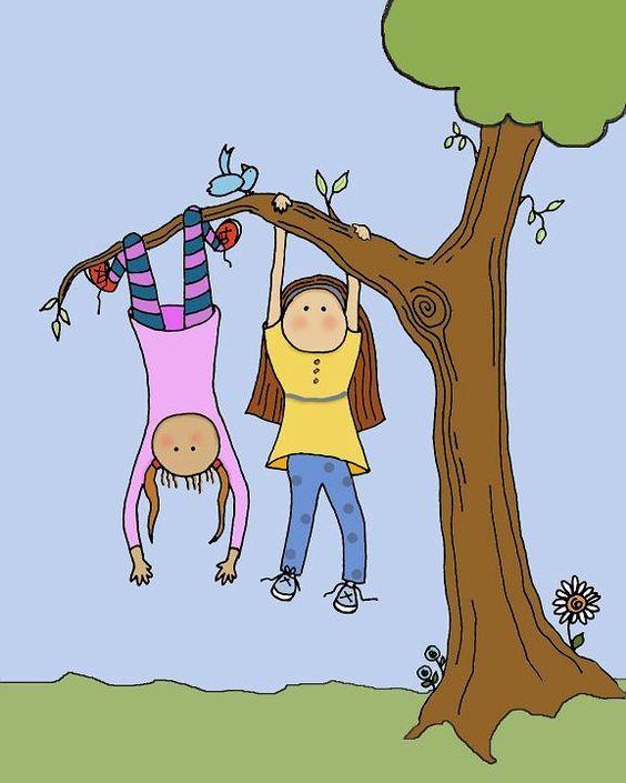 Boy climbing tree clipart 1 » Clipart Portal.