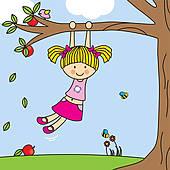 Tree Climber Cliparts.