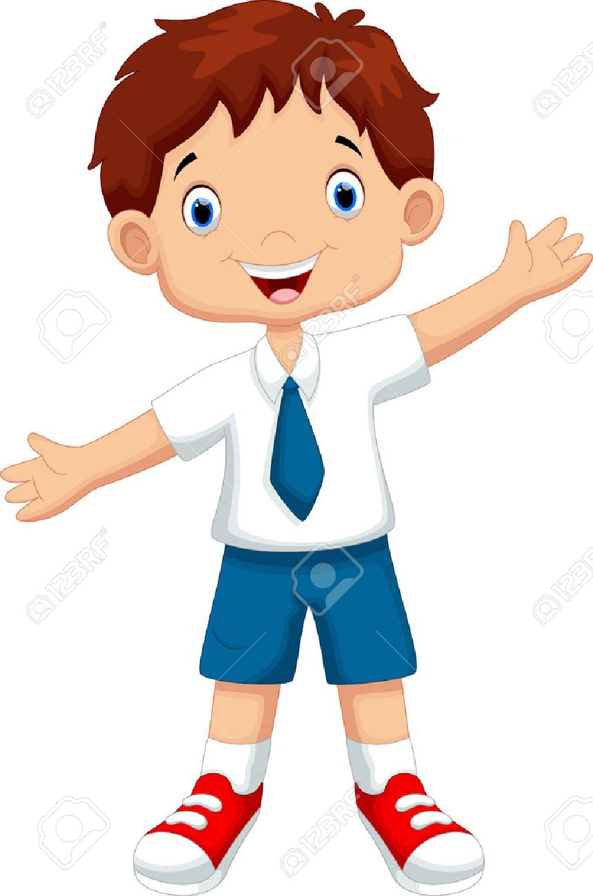 Boy in school uniform clipart 3 » Clipart Station.