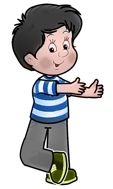 Cartoon Boy Clipart.
