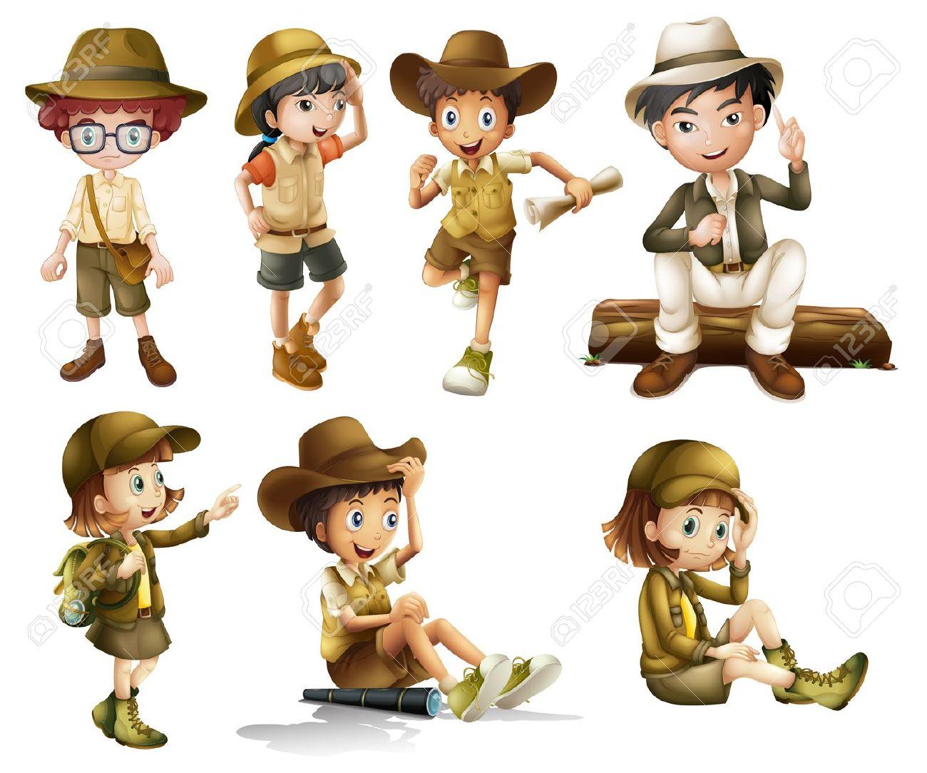 Boy Clipart Adventurer.
