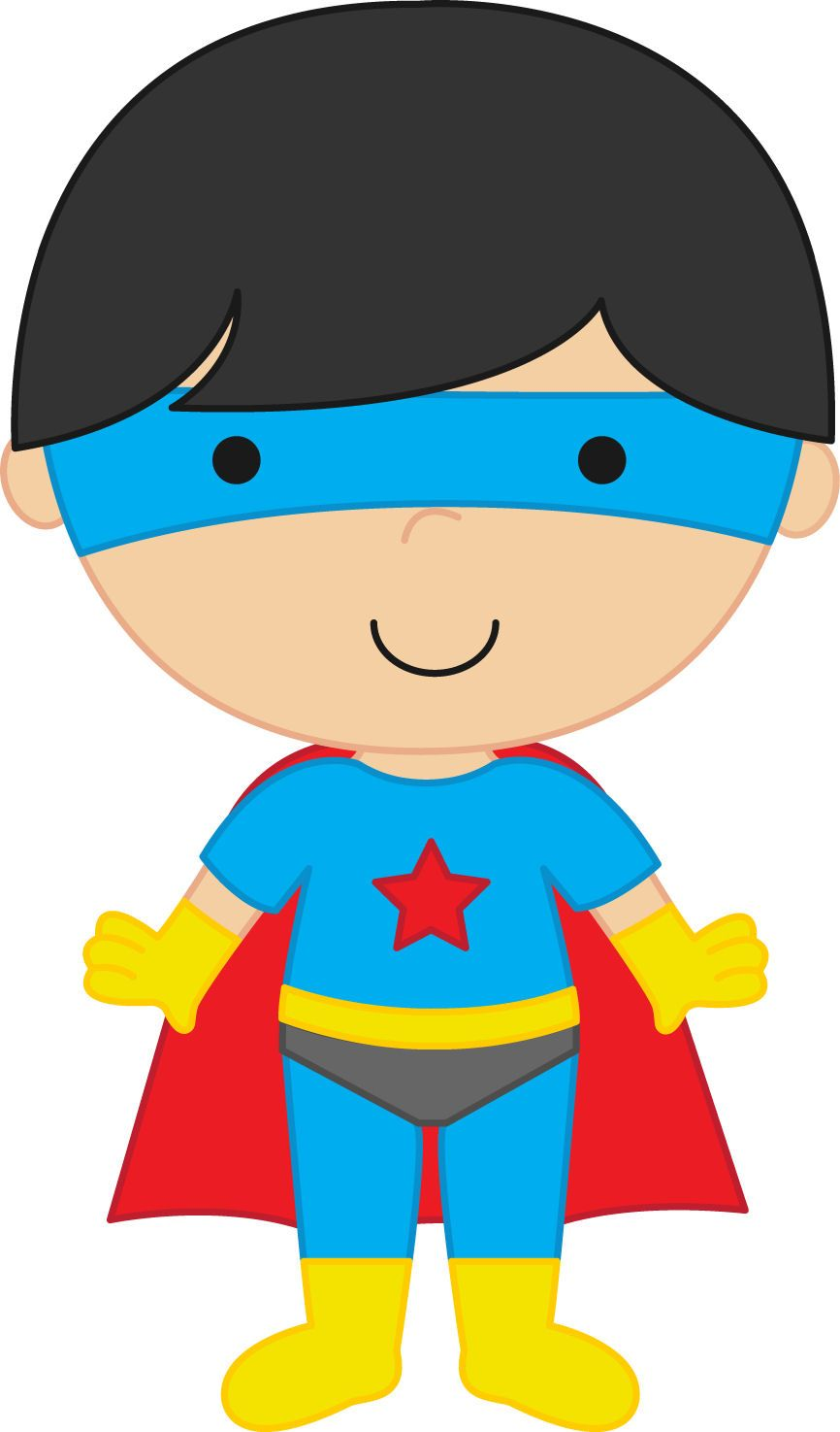 Free download Super Boy Clipart for your creation..