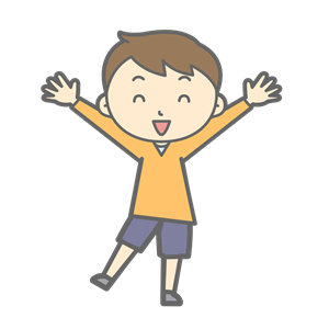 Happy Boy Standing clipart, cliparts of Happy Boy Standing.
