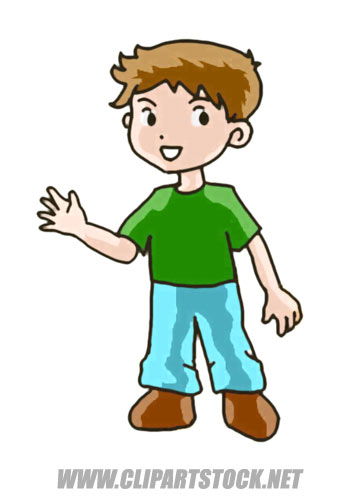 86+ Clipart Of A Boy.