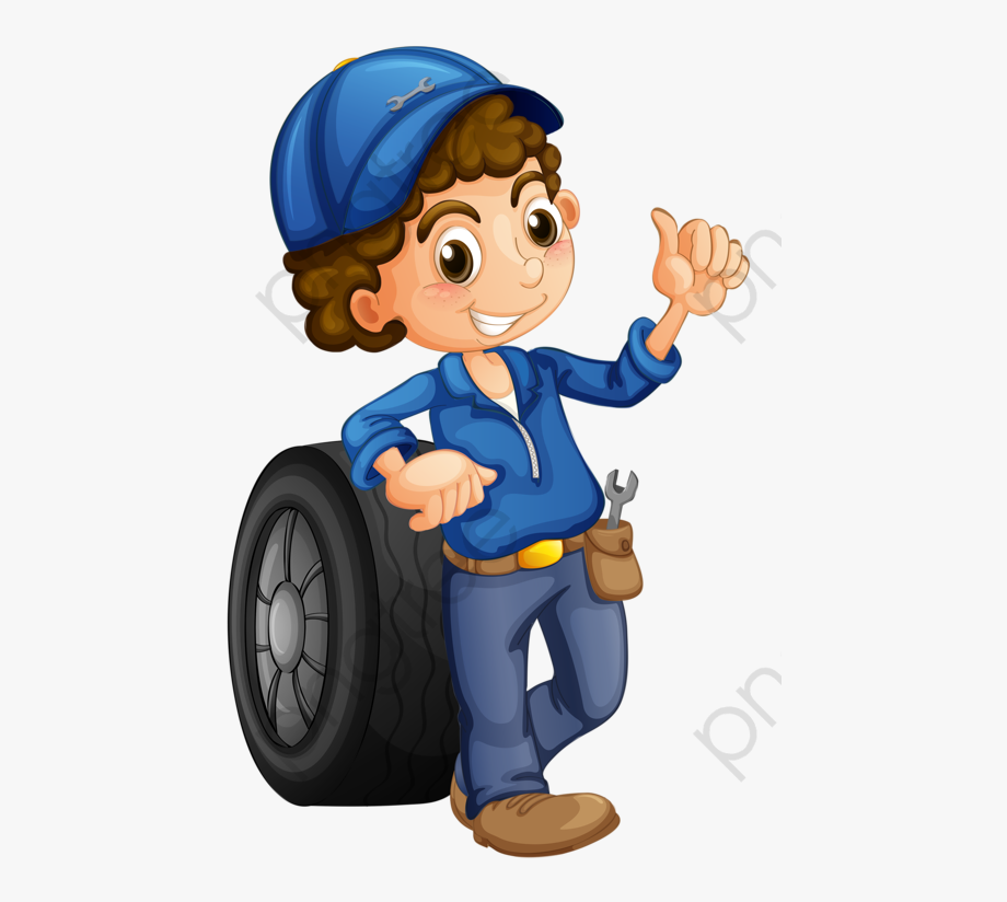 Mechanic Clipart Boy.