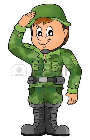 781 Soldier Salute Stock Vector Illustration And Royalty Free.