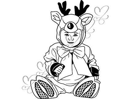 Amazon.com: Yetta Quiller Cute Baby Boy Toddler Outfit Deer.