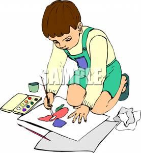 Boy Clipart Watercolor.