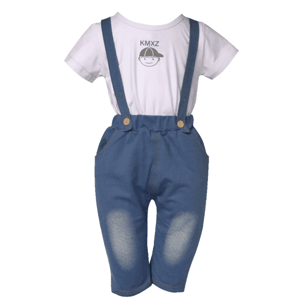 BABY SUSPENDER OUTFIT.