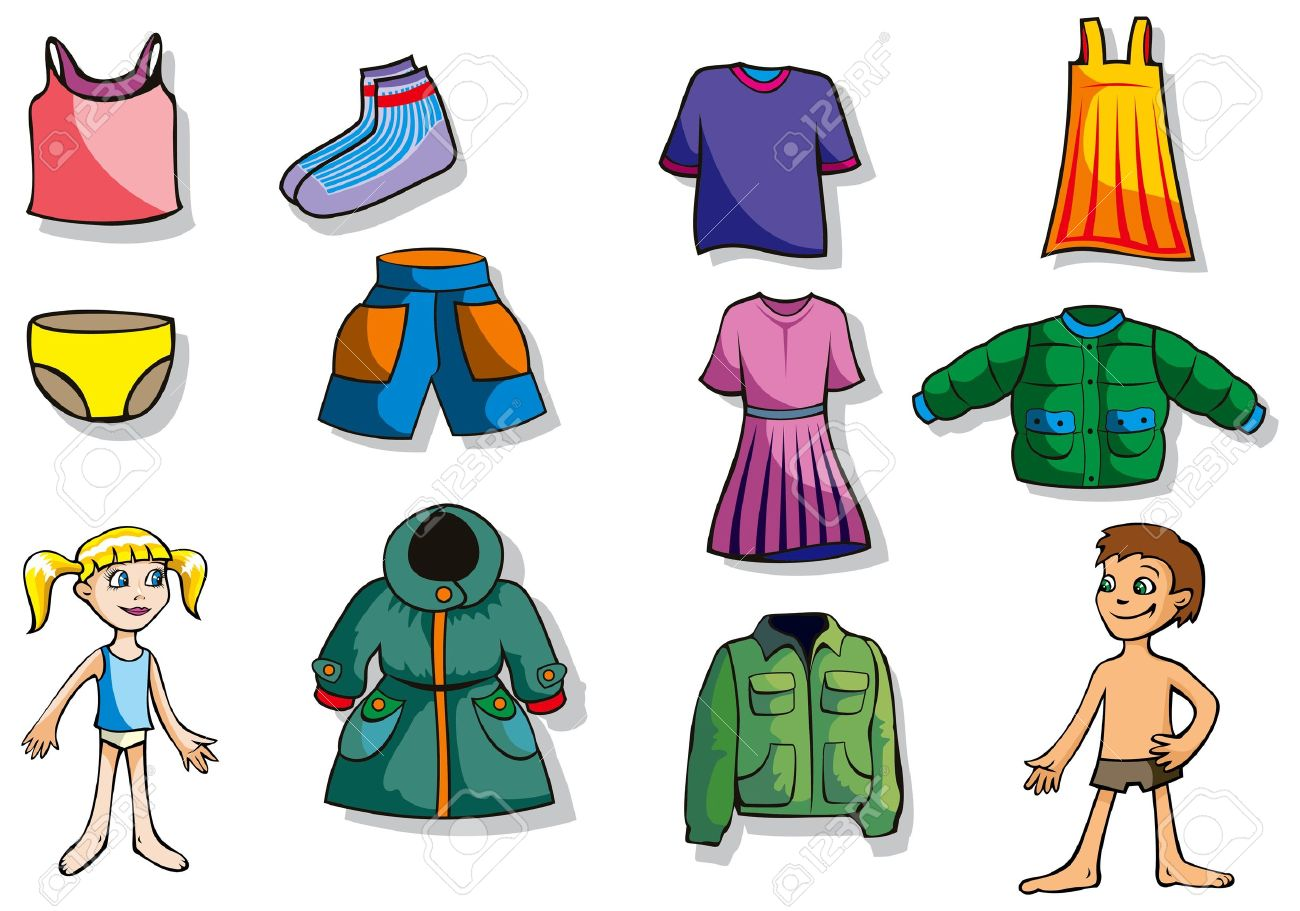Showing post & media for Cartoon girl shopping clothes.