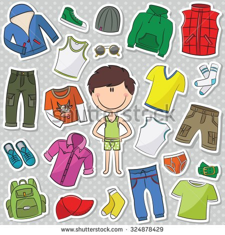 Showing post & media for Boy clothes shopping cartoon.