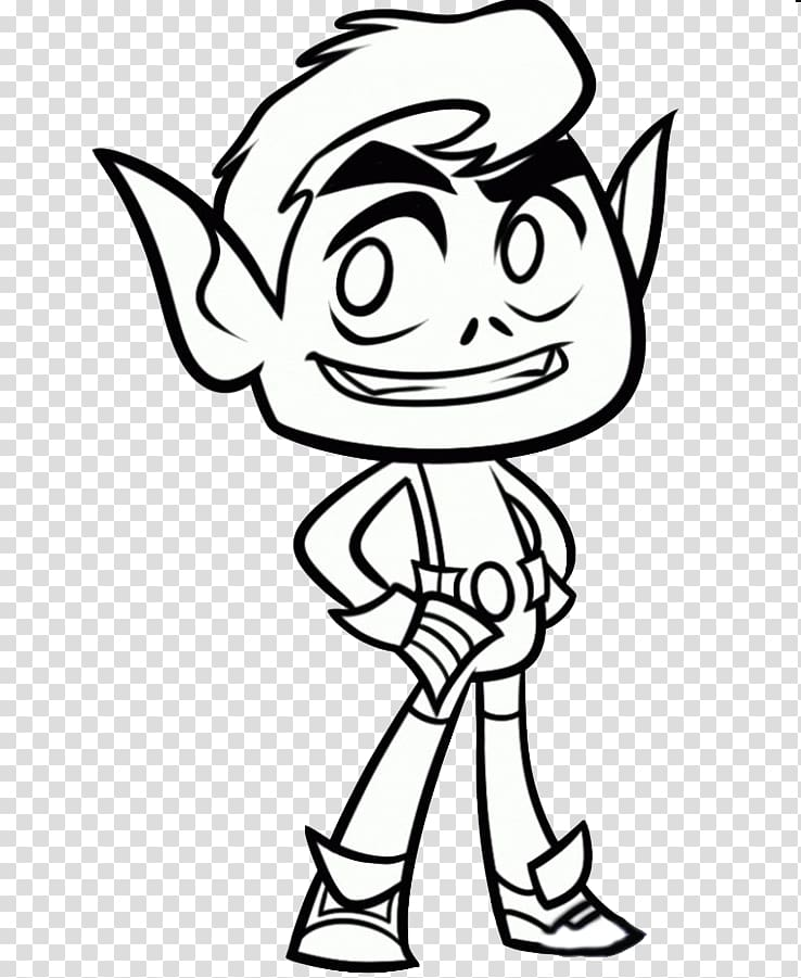 Beast Boy Coloring book Drawing Child Teen Titans, beast boy.
