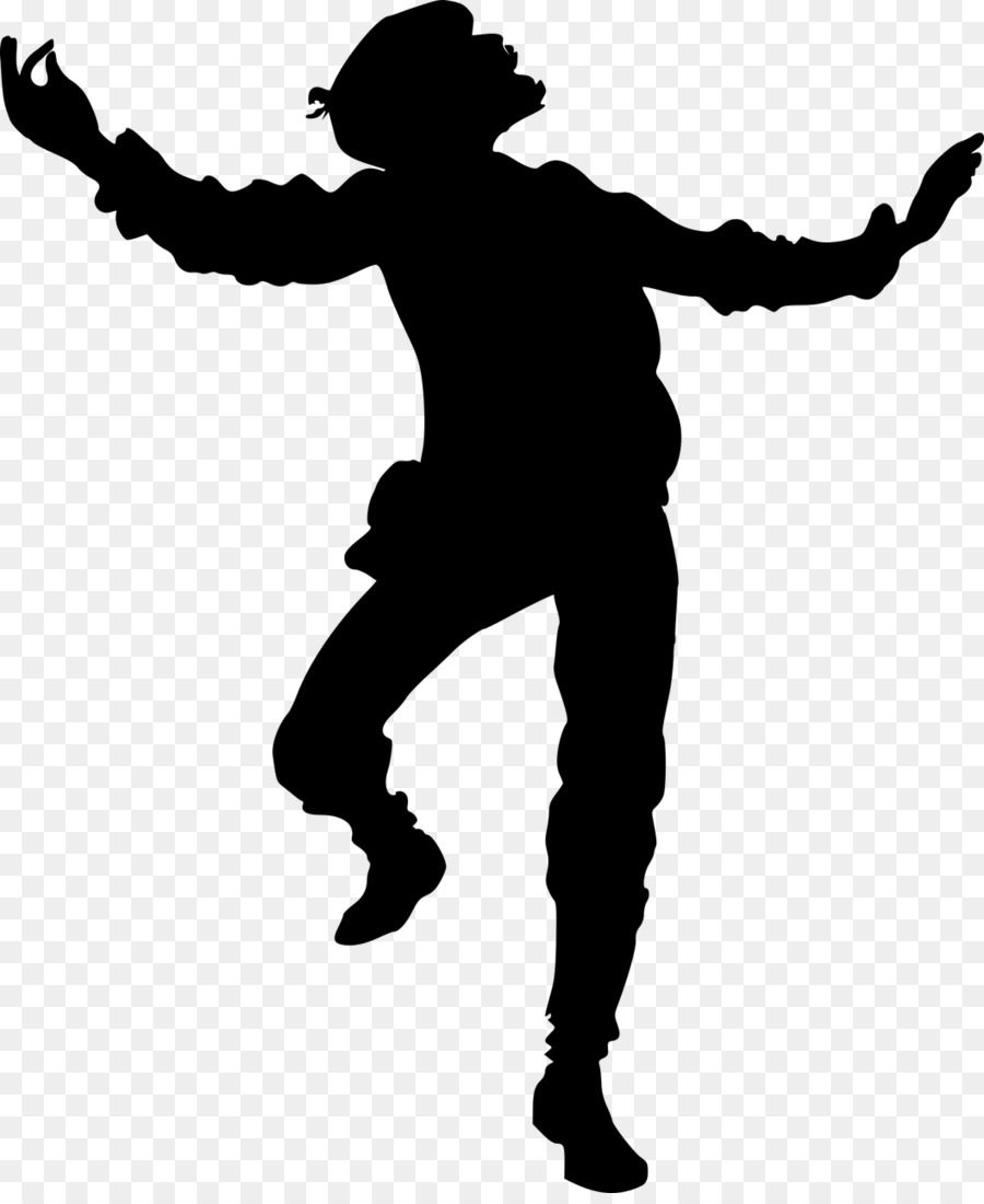 Vectormenez Clipart: Boy Dancing Clipart Black And White.