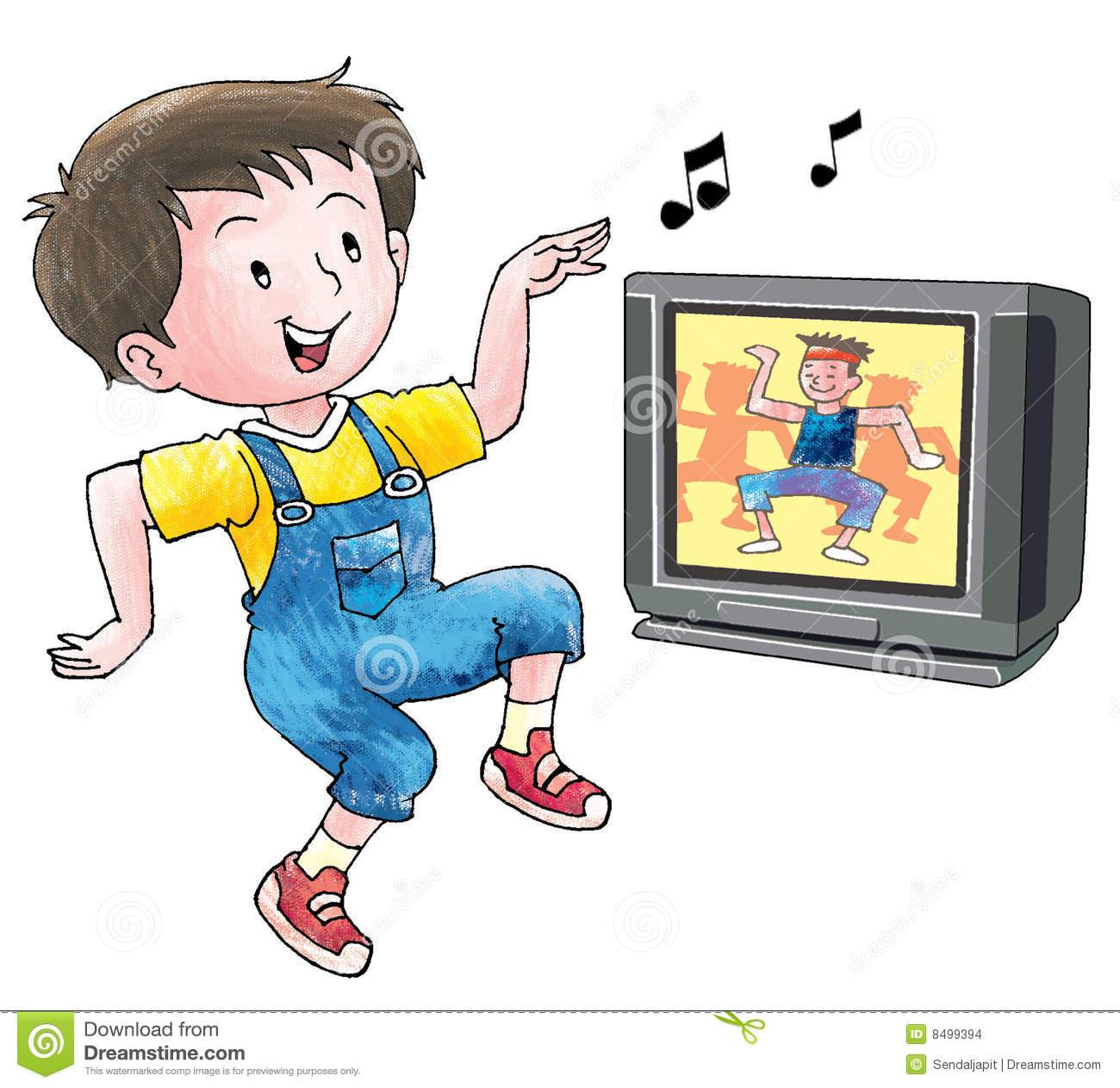 Dancing Boy Clipart.